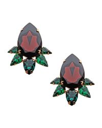 Persy - Green Earrings - Lyst