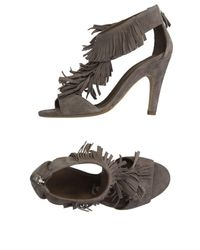 Vic Matié - Gray Sandals - Lyst