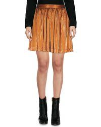 Frankie Morello - Multicolor Mini Skirt - Lyst