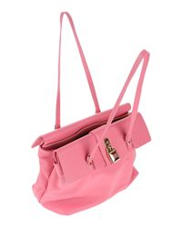 Patrizia Pepe - Pink Shoulder Bag - Lyst