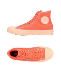 Converse - Orange High-tops & Sneakers for Men - Lyst