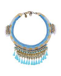 Sveva Collection - Blue Necklace - Lyst