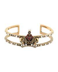 Alexander McQueen - Metallic Bracelets - Lyst