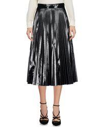 Amen - Black 3/4 Length Skirt - Lyst