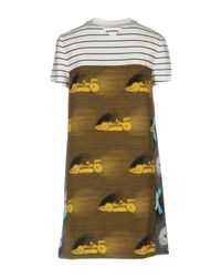 Prada Yellow Short Dress