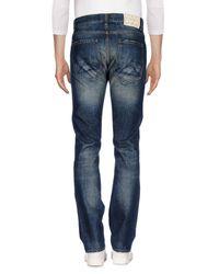 AMSTERDENIM - Blue Denim Trousers for Men - Lyst
