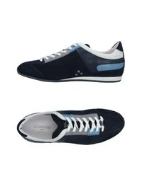 Alberto Guardiani Blue Low-tops & Sneakers for men