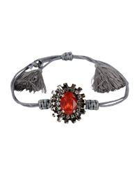 Deepa Gurnani - Gray Bracelet - Lyst