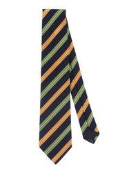 Les Copains - Blue Ties for Men - Lyst