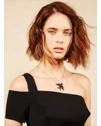 Maha Lozi | Black Creature Of Habit Necklace - Last One | Lyst