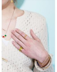 Joanna Cave | Metallic Clong Bracelet In Gold - Sold Out | Lyst