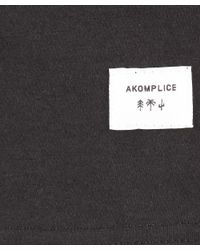 Akomplice Clothing - Black Standing Rock Long Sleeve Tee for Men - Lyst