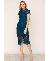 Yumi Kim - Blue Debutante Lace Dress - Lyst