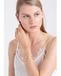 ONLY | Metallic Onlbenu Lucky 2 Pack Bracelet | Lyst
