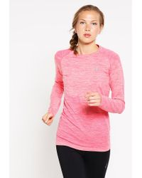 Asics | Pink Long Sleeved Top | Lyst
