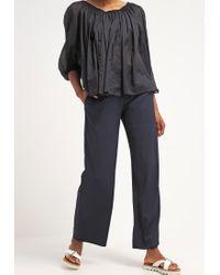 BOSS Orange | Blue Slouchy Trousers | Lyst