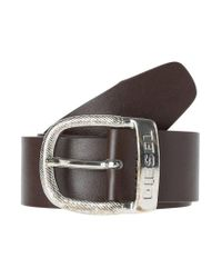 DIESEL | Brown Bawre Belt for Men | Lyst