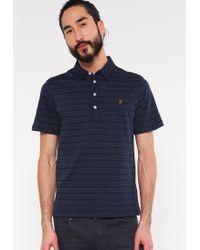 Farah | Blue The Bentley Polo Shirt for Men | Lyst