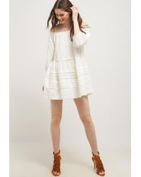 Free People | White Candy Shop Summer Dress | Lyst