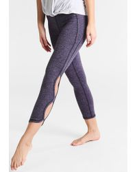 Free People | Blue Infinity Tights | Lyst
