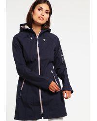 Ilse Jacobsen | Blue Waterproof Jacket | Lyst
