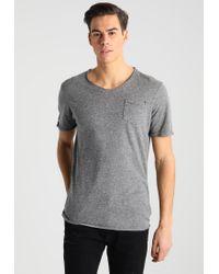 Jack & Jones | Gray Jjvfranco Slim Fit Basic T-shirt for Men | Lyst