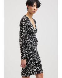Liu Jo   Black Abito Diane Jersey Dress   Lyst