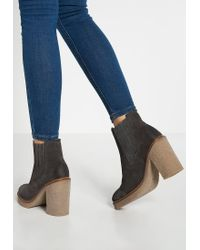 Marc O'polo | Gray High Heeled Ankle Boots | Lyst