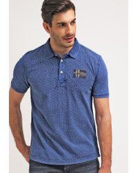 Napapijri | Blue Ebaj Polo Shirt for Men | Lyst