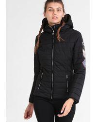 Napapijri | Black Alesund Winter Jacket | Lyst