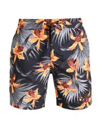 Superdry | Gray Vacation Paradise Swimming Shorts for Men | Lyst