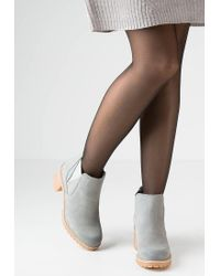 Tamaris   Gray Ankle Boots   Lyst