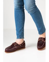 Timberland | Brown Boat Shoes | Lyst