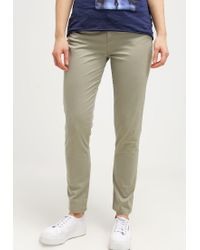 Tommy Hilfiger | Gray Judy Milan Slim Fit Trousers | Lyst