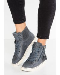 UGG | Blue Blaney High-top Trainers | Lyst