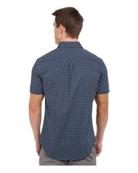 7 Diamonds - Blue Boomerang Top for Men - Lyst