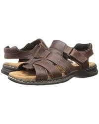 Dr. Scholls - Cain (brown) Men's Sandals for Men - Lyst