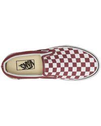 Vans - Multicolor Classic Slip-ontm ((muted Metallic) Gold/true White) Skate Shoes for Men - Lyst