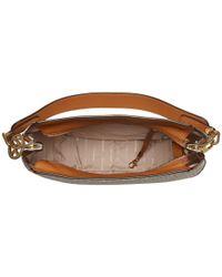 MICHAEL Michael Kors Multicolor Fulton Large Hobo (vanilla) Hobo Handbags