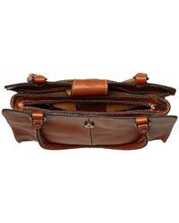Patricia Nash - Brown Rienzo Satchel (palm Leaves) Satchel Handbags - Lyst