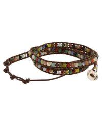 Chan Luu - Multicolor Semiprecious Stone Wrap Bracelet (multi) Bracelet - Lyst
