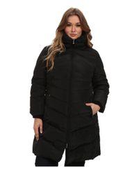 Jessica Simpson - Black Plus Size Jofwd007 Coat - Lyst