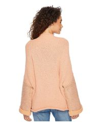 Free People - Pink Cuddle Up Pullover - Lyst