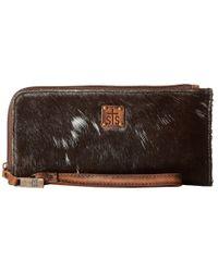STS Ranchwear - Brown The Classic Clutch (cowhide) Handbags - Lyst