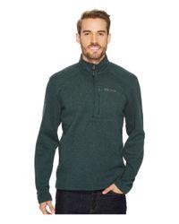 Marmot - Green Drop Line 1/2 Zip for Men - Lyst