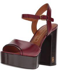Marc Jacobs - Multicolor Lust Status Platform Sandal - Lyst