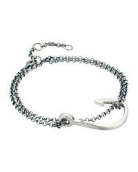 Miansai - Metallic Hook Chain Bracelet - Lyst