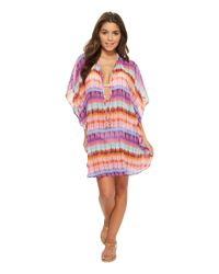 Bleu Rod Beattie - Multicolor Dream Weavers Caftan Cover-up (multi) Women's Swimwear - Lyst