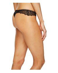 Else - Ivy Lace Thong (black) Women's Underwear - Lyst