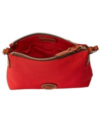 "Dooney & Bourke - Red ""in"" Nylon New Slgs Styles Crossbody Pouchette - Lyst"